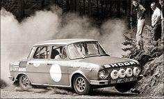 Škoda 1970 Car Makes, Rally Car, Old Cars, Cars And Motorcycles, Vintage Cars, Race Cars, England, Racing, Trucks