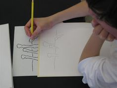 The Calvert Canvas: Adventures in Middle School Art!: Using the Right-Brain to Draw an Upside-down Horse