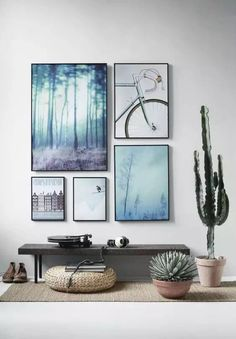 Variations Creative Frame Wall Decoration for Your Home. Amazing and Creative Frame Wall Decoration for Your Home. Bored with a plain wall look? Do not rush to replace the paint or coat it with wallpaper. Gallery Wall, Decor, Wall, Wall Decor, Interior, Art Gallery Wall, Home Decor, House Interior, Room Decor