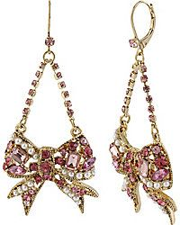 Drop Earrings - Shop Womens Fashion Earrings from Betsey Johnson