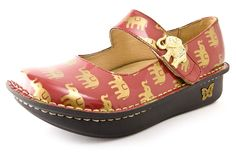 Alegria Paloma Golden Elephant - on closeout for $69! | Alegria Shoe Shop #AlegriaShoes #Closeout