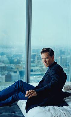 Benedict Cumberbatch. Photography by Tomo Brejc for Jaguar magazine