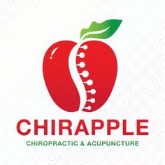 #Apple #Chiropractic and #Acupuncture #Logo #Design