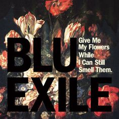 Blu and Exile- Give Me My Flowers While I Can Still Smell Them