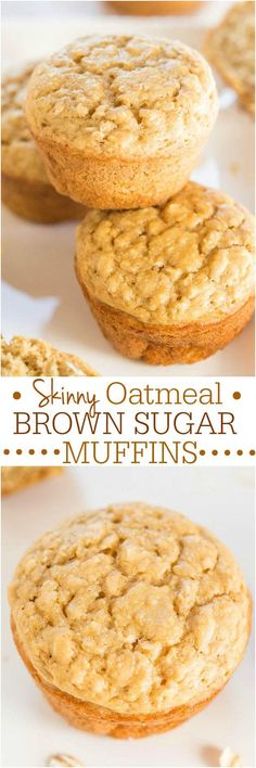Skinny Oatmeal Brown Sugar Muffins       INGREDIENTS: 1 large egg1 cup all-purpose flour3/4 cup old-fashioned whole-rolled oats (don't use quick cook or instant; they're finer and act more like flour and batter will be too dry)1/2 cup Silk Unsweetened Vanilla Almondmilk (Silk Unsweetened Cashewmilk or another milk may be substituted)1/2 cup sugar-free pancake syrup (lite syrup or real maple syrup may […]  Continue reading...    The post  Skinny Oatmeal Brown Sugar Muffins  appeared f..