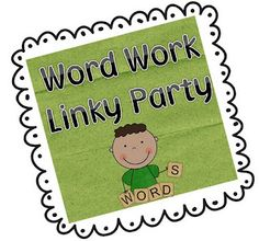 List of blog posts with lots of great word work ideas