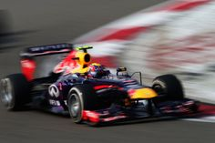 Round 3, UBS Chinese Grand Prix 2013, Race, Mark Webber, Infiniti Red Bull Racing, On Track Action