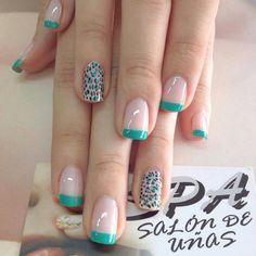 Blue Cute Toe Nails, Glam Nails, Toe Nail Art, Pretty Nails, Acrylic Nails, Nail Store, Leopard Nails, Flower Nails, French Nails