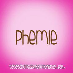 Phemie  (Voor meer inspiratie, en unieke geboortekaartjes kijk op www.heyboyheygirl.nl)