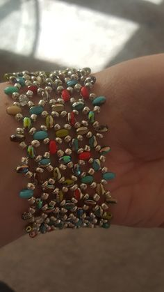 Beaded Jewelry Patterns, Beading Patterns, Beaded Jewellery, Seed Bead Bracelets, Seed Beads, Diy Jewelry, Jewelry Making, Twin Beads, Beading Projects