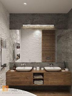 Фото ванная комната из проекта «Ванные комнаты»