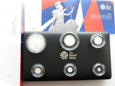 2016 Britannia Silver Proof 6 Coin Set Box Coa- Mintage 1,100