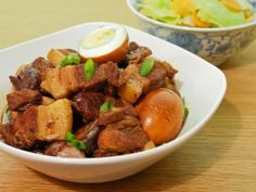 Tau Eu Bak (Soy Sauce Braised Pork) ~ The Trishaw