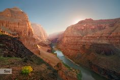Photograph Sunrise in the Grand Canyon by Marc Bächtold on 500px