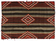 Navajo Third Phase Chief's Blanket  http://www.cowanauctions.com/auctions/item.aspx?ItemId=101071