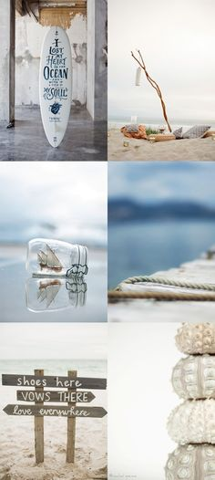 Moodboard: combination of photographic treatment to design