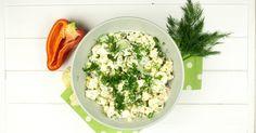 Все знают о полезных свойствах морской капусты. Очень полезный салат
