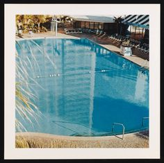 Ed Ruscha | 1968, printed 1997 | Pool #8 | Photograph, colour on paper