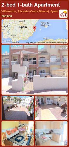 2-bed 1-bath Apartment in Villamartin, Alicante (Costa Blanca), Spain ►€66,000 #PropertyForSaleInSpain