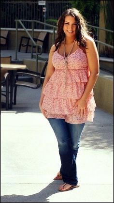 8 Summer Plus Size Fashionable Outfits