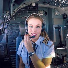 Be an Aviator Not a Pilot Captain Mohit and Madhu Spieth Und Wensky, Jet Fighter Pilot, Flight Girls, Pilot Uniform, Commercial Pilot, Airline Pilot, Female Pilot, Aviators Women, Bored At Work