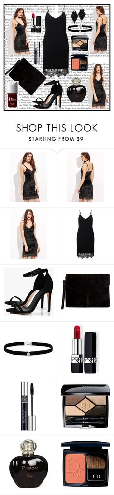 """""""Bez naslova #123"""" by amraa-145 ❤ liked on Polyvore featuring Miss Selfridge, Boohoo, Amanda Rose Collection, Roberto Demeglio and Christian Dior"""