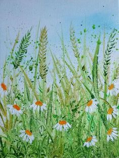 Buy Wild Daisies, Acrylic painting by Lucy Moore on Artfinder. Discover thousands of other original paintings, prints, sculptures and photography from independent artists.