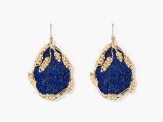 Françoise lapis lazuli earrings