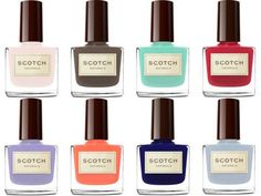 Scotch Natural Nails- Vegan  Cruelty-free  Gluten Free  Fragrance Free  Toxin Free  Paraben Free  Hypoallergenic  Biodegradable