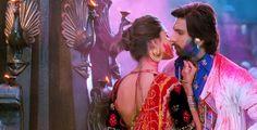 Deepika and Ranveer in lahu munh lag gaya song from the movie raM LEELA