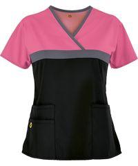 work uniform, work uniform direct from Guangzhou Zhiye Garment Manufacturer in China (Mainland) Scrubs Outfit, Scrubs Uniform, Scrubs Pattern, Cute Scrubs, Sewing Blouses, Lab Coats, Work Uniforms, Medical Scrubs, Couture