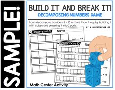 Free Printables for Decomposing Numbers