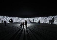 Olafur Eliasson presents immersive light installations in Paris