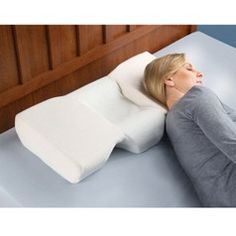 The Neck Pain Relieving Pillow.