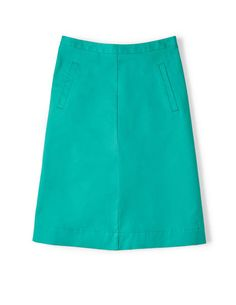Chino Skirt WG591 A-line & Full at Boden