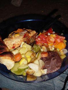 gourmet camp food