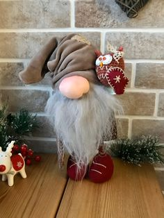 Christmas gnome Gnomes Home decoration Swedish gnome Tomte | Etsy Fun Crafts, Diy And Crafts, Christmas Crafts, Christmas Stuff, Christmas Ideas, Halloween Projects, Halloween Diy, Terrarium Cactus, Funny Gnomes