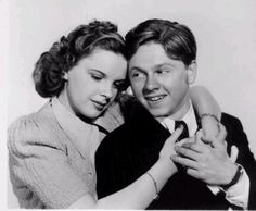 Mikey Rooney and Judy Garland