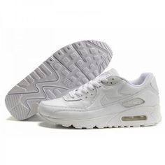 Nike Air Max 90 Hyperfuse Womens Trainers All White Nike Air Max White b4d6287a5f2