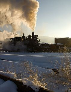Colorado Railroad Museum in Golden, CO.