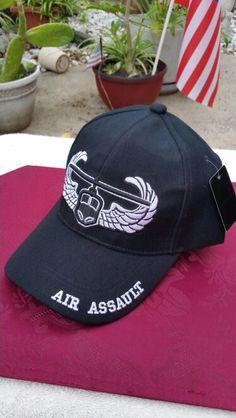 US ARMY AIR ASSAULT CAP - ADJUSTABLE VELCRO  $8.99 + 1.99 S / H - Ebay account: patriciakessler