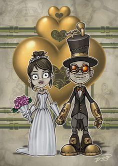 Steampunk Wedding on Behance