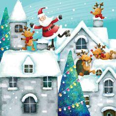 santa-christmas Liz Yee