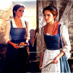 2 new pictures of Emma Watson in 'Beauty and the Beast'