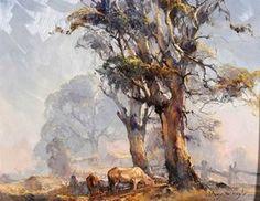 Indigenous Australian Art, Australian Artists, Landscape Art, Landscape Paintings, Oil Paintings, Australian Painting, Nature Artwork, Watercolor Trees, Traditional Paintings