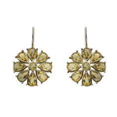 Trendy Handmade jewelry, silver earrings with Bohemian Topaz 4 inches: ShalinCraft: Amazon.de: Jewelry
