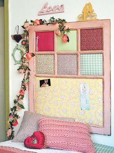 Reciclagem de janela antiga / DIY, craft