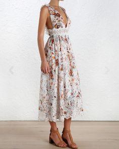 Alchemy Flutter Back Dress: $795
