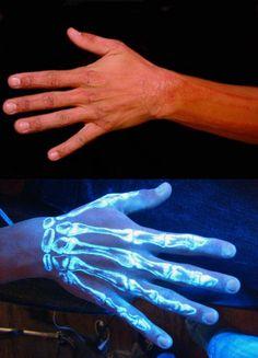 Uv Tattoo, Bff Tattoos, Glow Tattoo, Hand Tattoos For Guys, Dope Tattoos, Dark Tattoo, Dream Tattoos, Black Tattoos, Body Art Tattoos