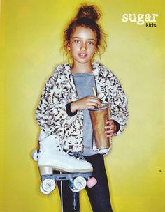 Violeta de Sugar Kids para Vogue